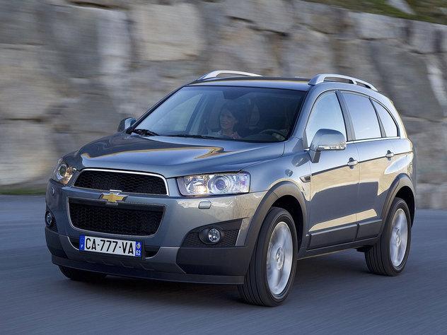 Chevrolet captiva opiniones