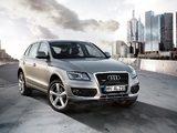 Audi Q5 plata tres cuartos
