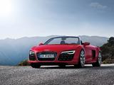 Foto Audi R8 Spider  2013