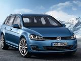 Foto Volkswagen Golf Variant  2013