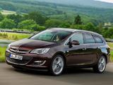 Foto Opel Astra Sports Tourer  2012