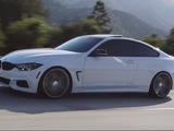 bmw 428i shines on vossen wheels video 83265 1