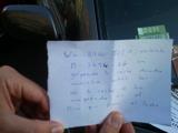 La nota que puso luz al caso del #parkingmini