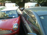 Mini Vs Corolla #parkingmini