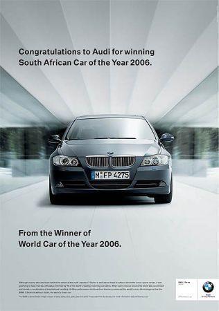de BMW a Audi
