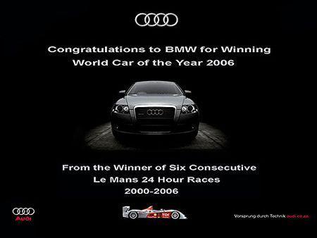 respuesta de Audi a BMW