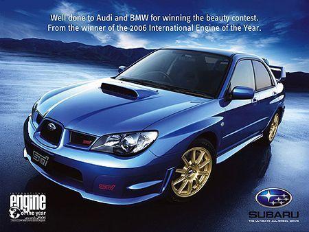 Subaru responde a BMW y Audi