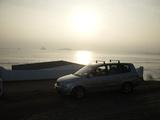 Foto Por la costa
