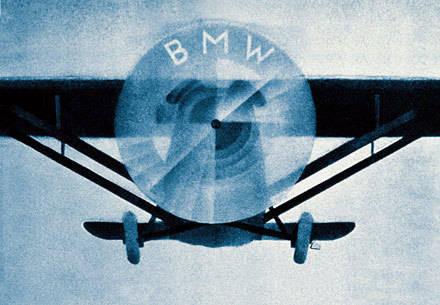 Logo BMW y las hélices