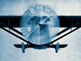 car logo bmw plane