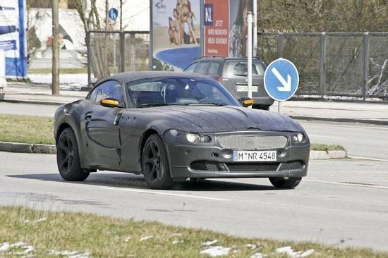 BMW Z4 con capota dura