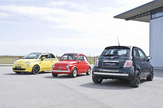 Fiat 500 Hamman