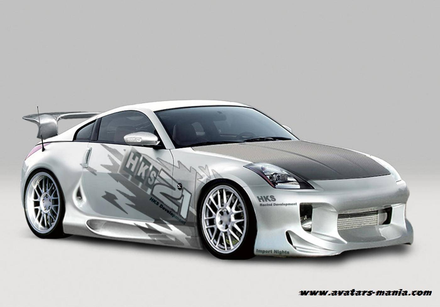 Nissan 350Z Modified Tuning Auto Carros. Wallpaper tuning car sport.