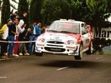 Escort WRC 98 Goyo Picar V ctor P rez Rallye Isla de La Palma Airam Escaneos