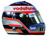 Casco Alonso en McLaren