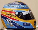 Casco Alonso en Renault 2006