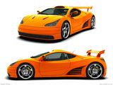 Supercar concept by Yann Goument